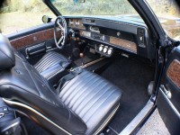 1970 Olds Cutlass Supreme, 442 W-30 Convertible interior photo: David Woodward